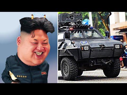 Очень Странные Вещи, Которые Использует Ким Чен Ын для Своей Безопасности