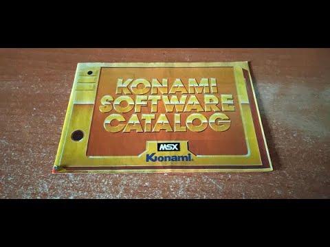 Konami Sofware Catalog MSX
