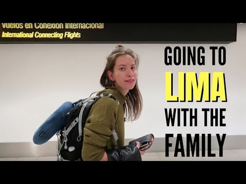 Peru Trip Announcement! Toronto to Lima Travel Vlog
