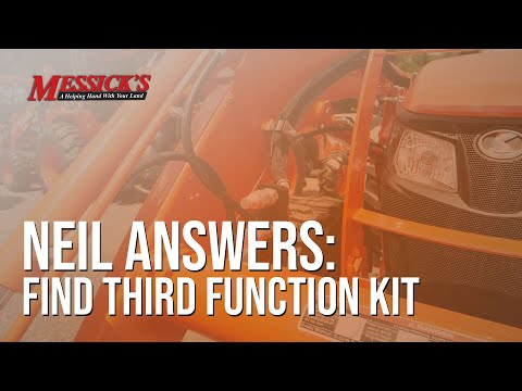 Kubota M Series Third Function Kit | Neil Answers Picture