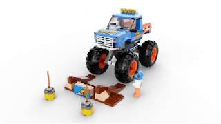 LEGO City Great Vehicles 60180 Monster Truck 360°
