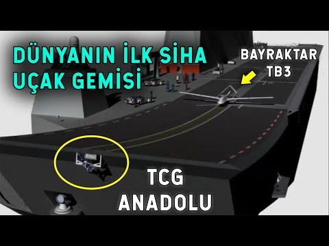 TCG Anadolu Dünyanın İlk SİHA Uçak Gemisi Olacak!