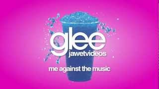 Glee Cast - Me Against The Music (karaoke version)