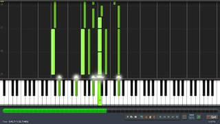 Adele - Hometown Glory (Intro) - Tutorial + MIDI + Sheet Music