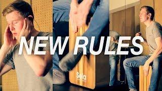 Dua Lipa - New Rules | Cajon Cover by Ross McCallum