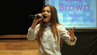THE OTHER SIDE – ALESSIA CARA performed by ELLA BROWN at Teenstar Manchester Area Final