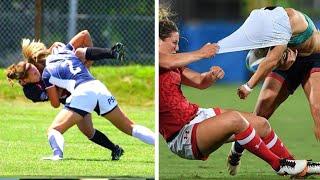 Disrespectful & Dirty Plays in WOMEN's Football