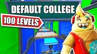 default college for bots... *100 level default deathrun*