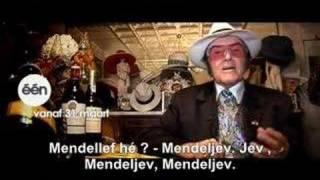 Eddy Wally en de tabel van Mendeljev