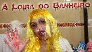 A LOIRA DO BANHEIRO! - HISTÓRIAS DE TERROR!