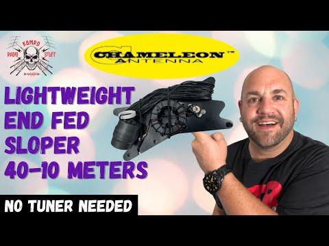 Chameleon LEFS Antenna | 40-10 Meters No Tuner Needed