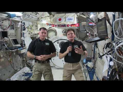 Space Station Astronauts Talk with West Virginia S…