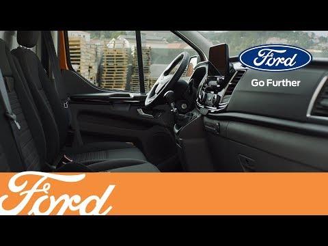 Nye Ford Transit Custom - smart oppbevaring i kupeen | Ford Norge