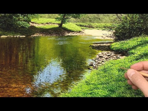 How To Paint Realism In A River | Episode 137