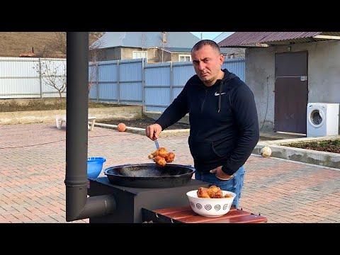 KFC Chicken Russian STYLE. Куриные НОЖКИ в Кавказском СТИЛЕ!! ENG SUB. photo