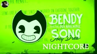 DAGames - Build Our Machine [NIGHTCORE]   BENDY AND THE INK MACHINE SONG RUS