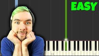ALL THE WAY - Jacksepticeye [Easy Piano Tutorial] (Synthesia/Sheet Music/Piano Cover)