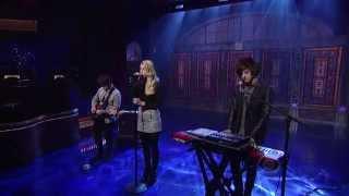 London Grammar - Strong - David Letterman 04 08 2014