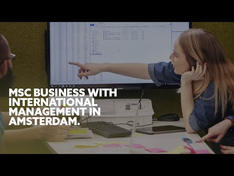 Business with International Management (MSc) | Northymbria University, Amsterdam