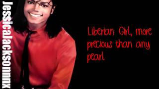 Michael Jackson-Liberian Girl Lyrics