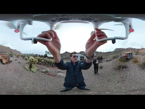 UNBOXING & REVIEW - Am filmat cu drona în 360 de grade