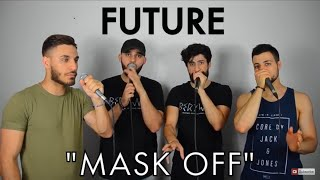 Berywam lying about (mask off future cover) in 5 styles beatbox