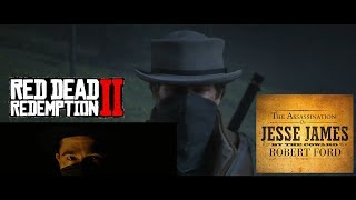 "Rockstar's homage to ""The Assassination of Jesse James"" - Red Dead Redemption 2"