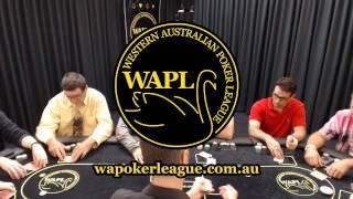 WAPL Live Table Soft Launch - Kris bullies Jaden off the pot!