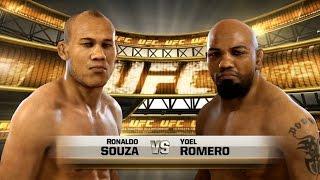 Ronaldo Jacaré Sousa  VS Yoel Romero  UFC 194:  12/12/2015