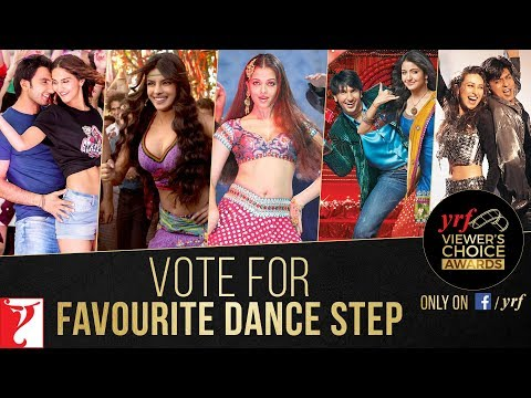 Favourite Dance Step | YRF Viewer's Choice Awards | Vote & Win