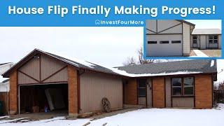 House Flip Finally Almost Done After a Few Setbacks! Progress on #216