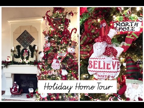 Christmas Home Tour | Friends Holiday Home  2017 | Momma From Scratch