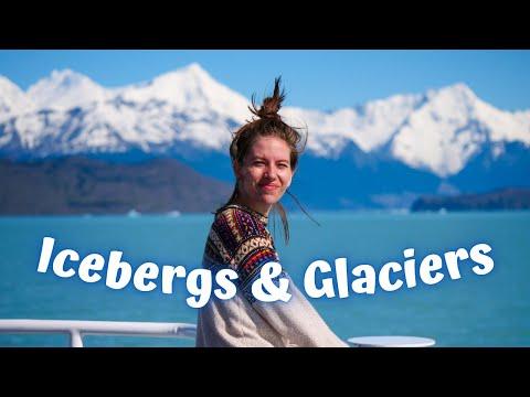 We Saw ICEBERGS & GLACIERS! 😍 BOAT TRIP of Los Glaciares National Park in Patagonia, Argentina