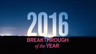 Breakthrough of the Year, 2016