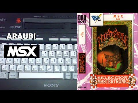 Nightshade (Ultimate, 1985) MSX [791] Walkthrough