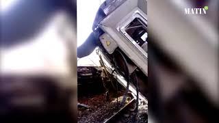 Déraillement d'un train entre Kénitra et Salé