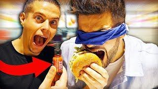 BLIND FOOD TEST #3 (Deviner les yeux bandés feat. Alan FoodChallenge)