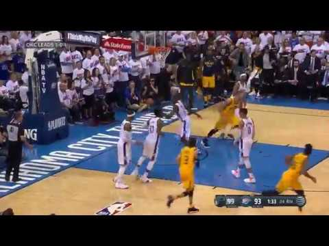 Donovan Mitchell Scores 28 Points, Including 13 in 4th, in Jazz Game 2 Win Against Thunder