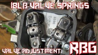 How to Install 18lb Valve Springs & Adjust Valves GX200 / Predator 212 Hemi & Non Hemi Go Kart