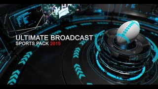 Ultimate Broadcast Sports Pack — After Effects project | Videohive template