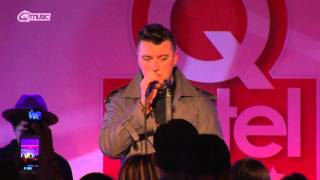 Sam Smith - 'La La La' (live in het Q-hotel 2014)