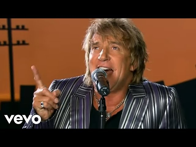 Video en directo de Rod Stewart Have You Ever Seen The Rain