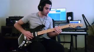 Pink Floyd - Comfortably Numb Solo Cover [Studio Version]