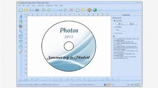 How to make CD labels and DVD covers with CD DVD Label Maker