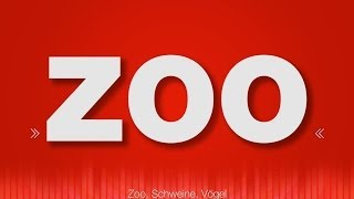 Zoo SOUND EFFECTS - Tierpark Animals Zoo Ambience Geräusche SOUNDS