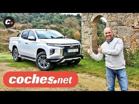 Mitsubishi L200 Pickup 2020 | Primera prueba / Test / Review en español | coches.net