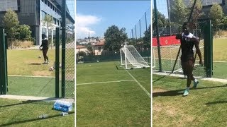 El espectacular reto de Balotelli a Marcelo | REVIEW | 2018
