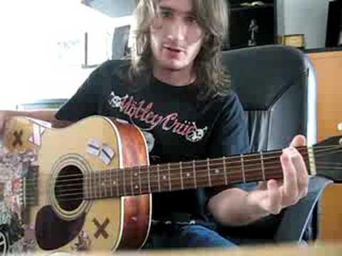 Comment jouer les 4 premières notes de Come as you are de Nirvana
