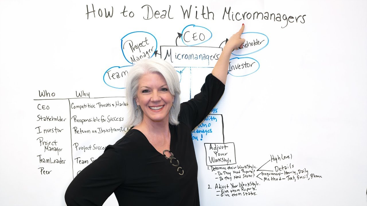 How to Deal with Micromanagers