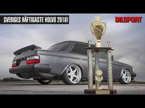 Sveriges Häftigaste Volvo 2018 - Robin Arvidssons 242!